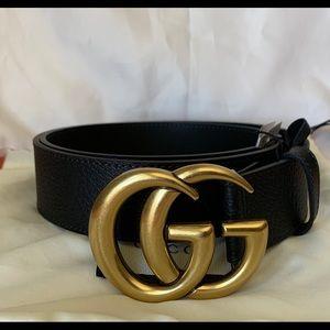 Brand New Gucci Pigskin GG Buckle Size 90CM